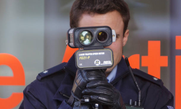 Bundesweiter Blitzmarathon 2014: Standorte der Messstellen laut Polizei