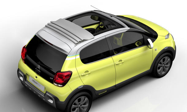 Concept Citroen C1 Urban Ride 2014 Paris Automesse SUV City Car 0002