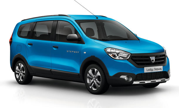 Dacia Lodgy Stepway 2014 Paris Crossover Transporter Van