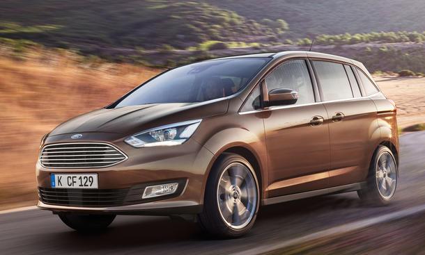 Ford C-Max Facelift 2015: Bilder, technische Daten und neue Motoren