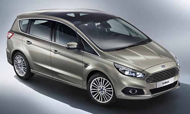 Ford S-Max 2015: Mit Familie zum Autosalon Paris 2014