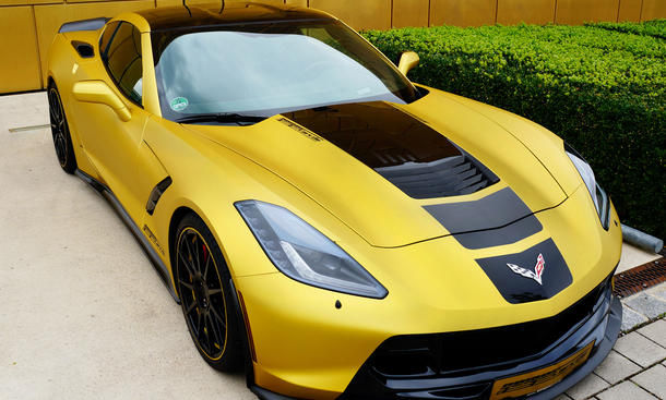 geigercars corvette c7 stingray mit kompressor tuning. Black Bedroom Furniture Sets. Home Design Ideas
