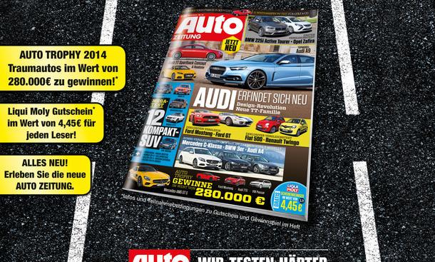 AUTO ZEITUNG 21/2014 Heft-Vorschau Cover