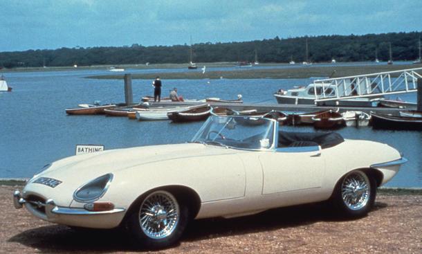 Jaguar E Type Roadster XK-E Diebstahl Fund nach 46 Jahren
