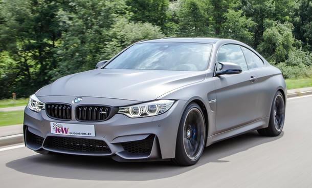 KW Clubsport BMW M4 Tuning Gewindefahrwerk Variante 3 Sport Fahrwerk