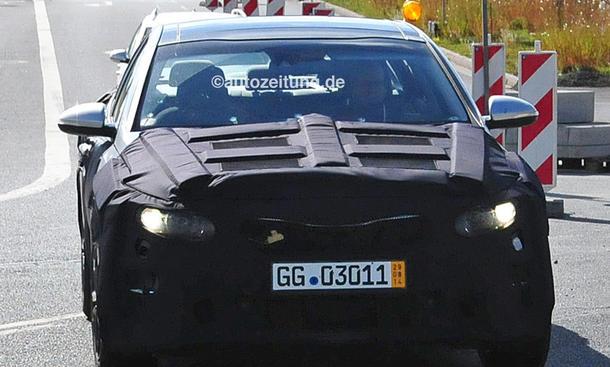 2015 - [Kia] Optima Kia-Optima-2015-Erlkoenig-Bilder-Mittelklasse-limousine-0002