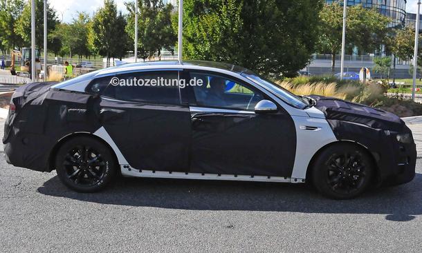 2015 - [Kia] Optima Kia-Optima-2015-Erlkoenig-Bilder-Mittelklasse-limousine-0004
