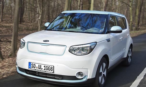Kia Soul EV Preis 2014 Elektroauto Grundpreis