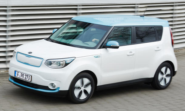 kia soul ev preis f r elektroauto ab euro bild 4. Black Bedroom Furniture Sets. Home Design Ideas