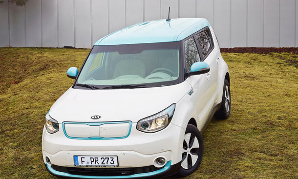 kia soul ev preis f r elektroauto ab euro bild 6. Black Bedroom Furniture Sets. Home Design Ideas