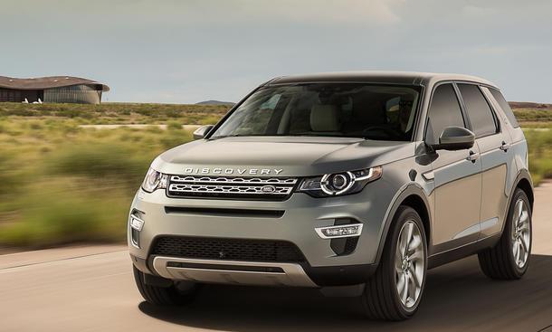 Land Rover Discovery Sport 2014 Paris Preis Motoren technische Daten Bilder Vorstellung Premiere 0002
