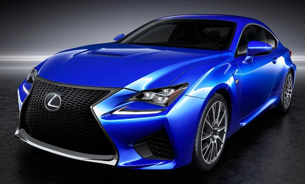 Lexus RC F Coupé 2015 Preis V8 technische Daten Marktstart