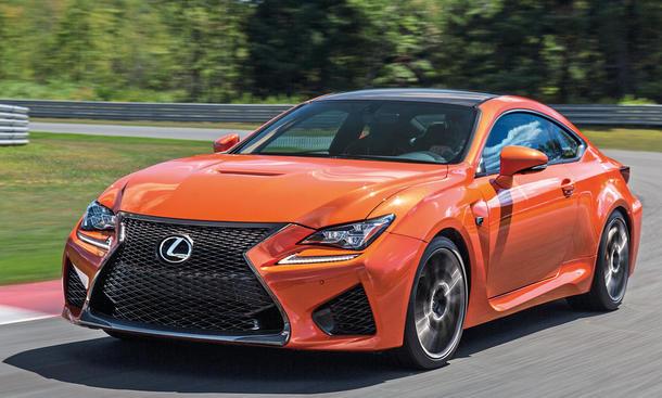Lexus RC F Test Fahrbericht Sportler Coupé