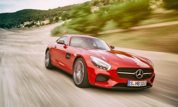 Mercedes AMG GT 2014 Paris Premiere Bilder Preis technische Daten V8 Motor 0002