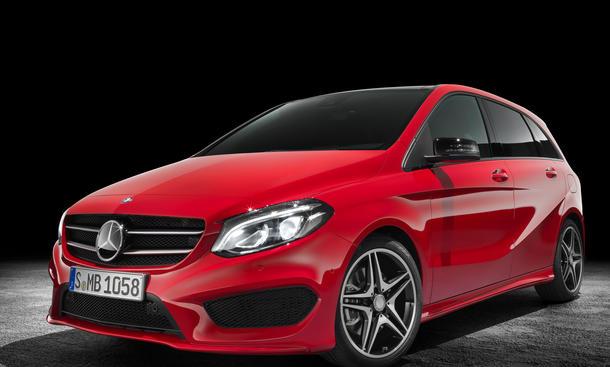 Mercedes B Klasse 2014 Facelift Preis Bilder Ausstattung Motoren Kompakt Van Neuheit 0002