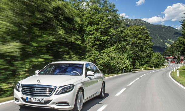 Mercedes C-Klasse Plug-in Hybrid: PHEV-Offensive bis 2017