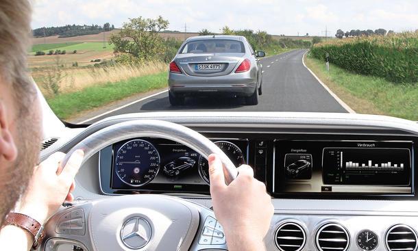 Mercedes S 400 Hybrid vs. S 350 BlueTEC: Benziner gegen Diesel im Vergleich