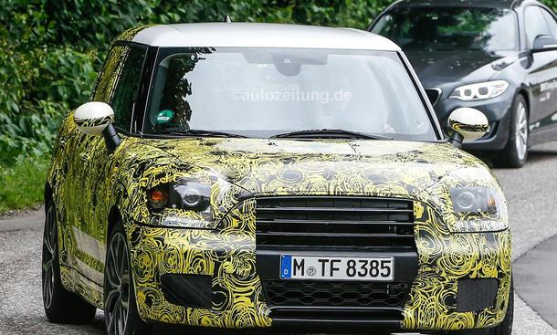 Mini Countryman 2017 kompakt SUV viertuerer 0002