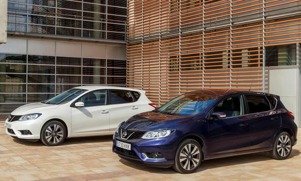 Nissan Pulsar 2014 Preis Kompaktklasse Markteinführung Neuheiten