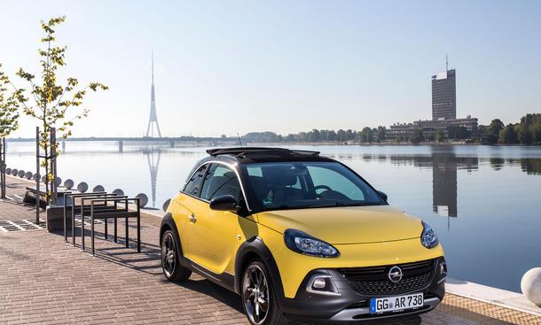 Opel Adam Rocks Kleinwagen Reportage Lettland Riga Fahrbericht