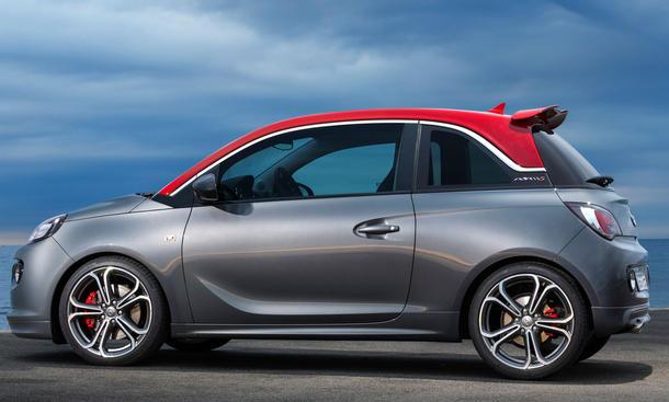 Opel Adam S 2014 Pariser Salon Bilder Kleinwagen Sportler technische daten 0002