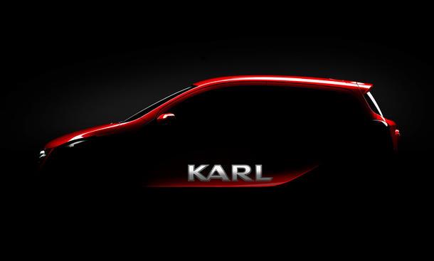 Opel Karl 2015: Erstes Bild zeigt neuesten Kleinstwagen aus Rüsselsheim
