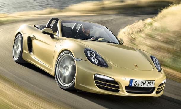 Porsche Boxster 211 pk: Neue Einstiegsmodelle für Belgien