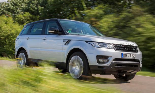 Range Rover Sport SDV8 Test Bilder technische Daten