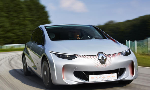Renault Eolab 2014: Hybrid-Kleinwagen als Ein-Liter-Auto
