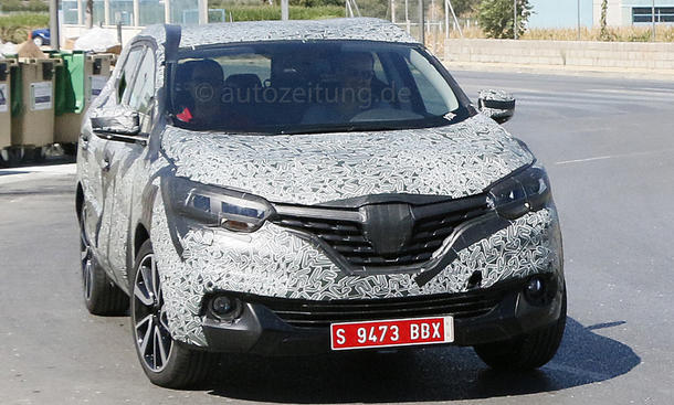 Renault Koleos 2015 SUV Erlkönig Crossover Neuheiten neue Generation Prototyp