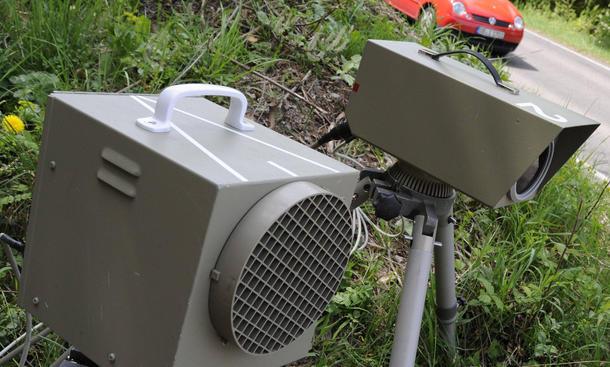 Strecken-radar Blitzer Kontrolle Tempo Niedersachsen 2015