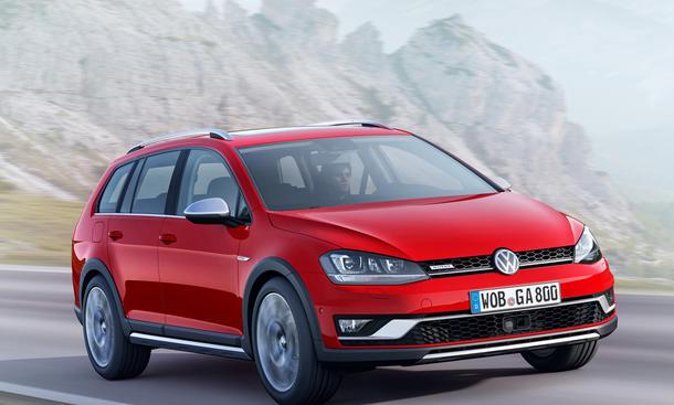 VW Golf Alltrack 2014 4Motion Allrad Kombi Autosalon Paris