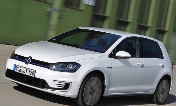 Golg GTE 2014 Preis Plug in Hybrid technische daten e-Golf