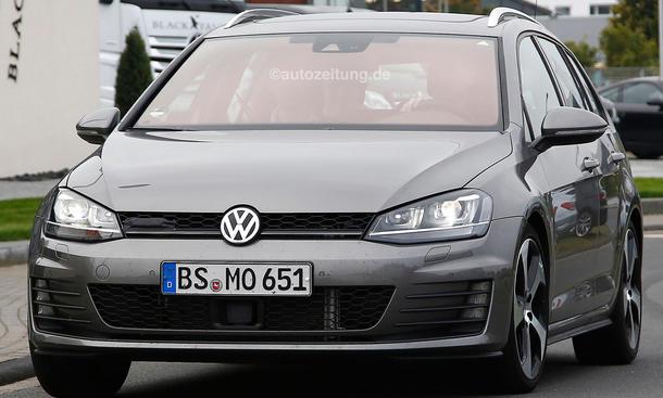 VW Golf Variant GTD 2014 Erlkoenig Bilder 0002
