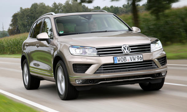 VW Touareg V6 TDI Bluemotion Technology Facelift Fahrbericht