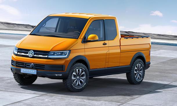 VW Tristar Concept Studie T6 IAA Nutzfahrzeuge 2014 Syncro Allrad