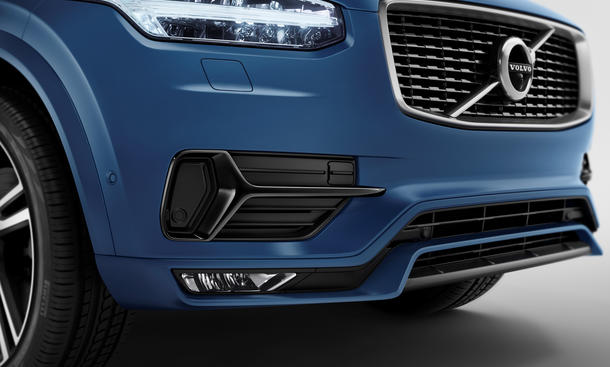 Volvo XC90 R Design 2014 Paris Sportpaket Pariser Autosalon Luxus-SUV Sport