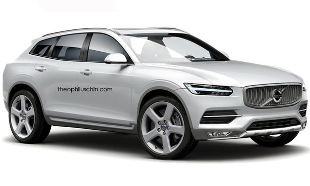 Volvo XC90 SUV Coupe Rendering 2014 Offroader Theophilus Chin