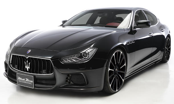 Wald International Maserati Ghibli Black Bison Tuning Bodykit