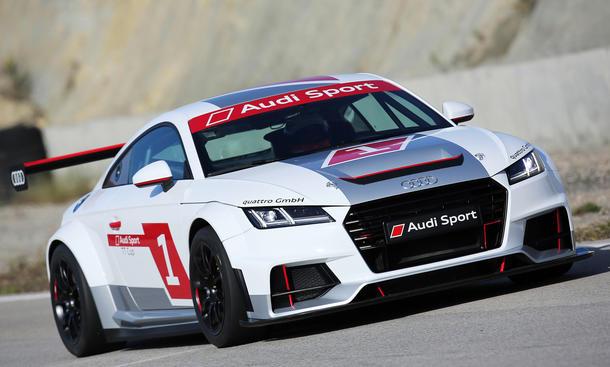 2014 Audi TT Cup 2015 Motorsport Markenpokal Markus Winkelhock