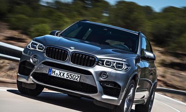 2015 BMW X5 M 2014 LA Auto Show Power SUV Marktstart Preis