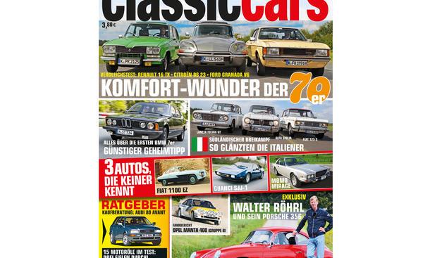 AUTO ZEITUNG Classic Cars 11 2014 Heft Vorschau Cover