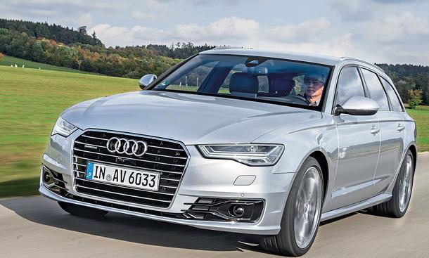 Neues Audi A6 Avant Facelift 2014 Erste Testfahrt Autozeitung De