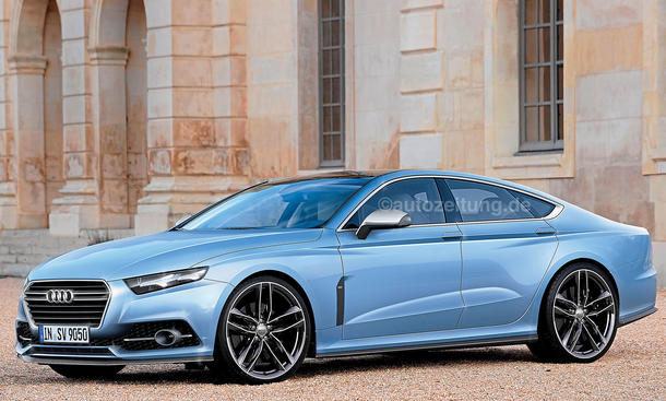 2014 Audi A9 - save our oceans