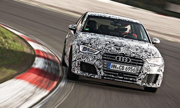 Audi RS 3 2015 Test Fahrbericht Mitfahrt Nürburgring