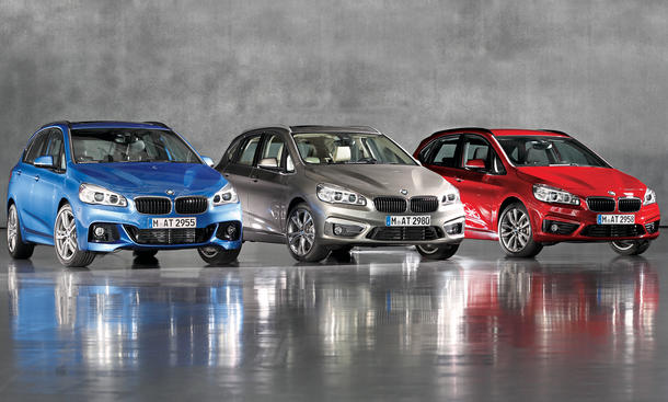 BMW 2er Active Tourer 2014 Kaufberatung Bilder