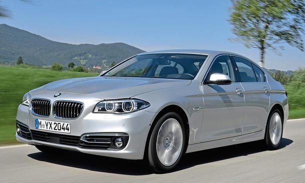 BMW 518d Limousine Oberklasse Vierzylinder Test Fahrbericht