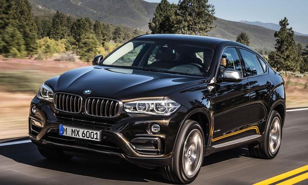 BMW X6 2014 Preise F16  Preisliste SUV Coupe