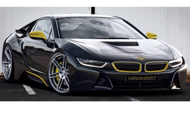 BMW i8 Tuning Manhart Performance Essen Motor Show 2014
