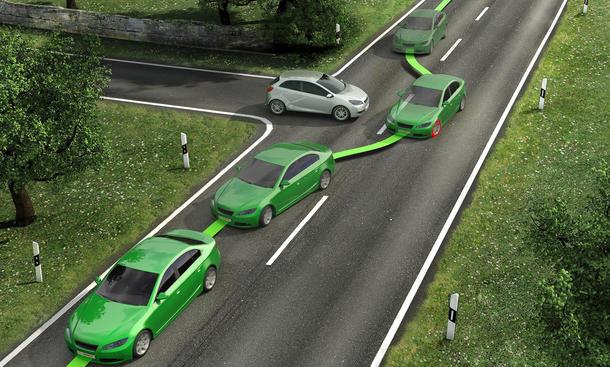 ESP-Pflicht 1. November 2014 Elektronisches Stabilitätsprogramm Neuwagen Technik Bosch